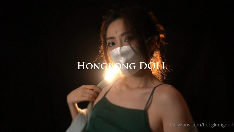 【線上x20】超火香港網紅極品美少女~JK在家自慰被室友撞見